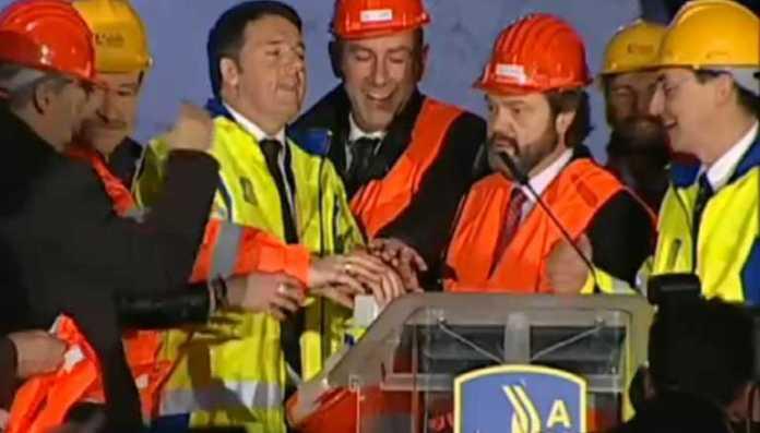 Matteo Renzi a Mormanno su A3