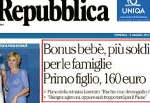 "Lorenzin (Ncd): ""Rischio crac demografico, bene il bonus bebè"""
