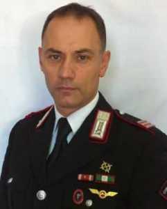 Il Luogotenente Paolo Gentile, Comandante Nucleo Operativo e Radiomobile di Giulianova