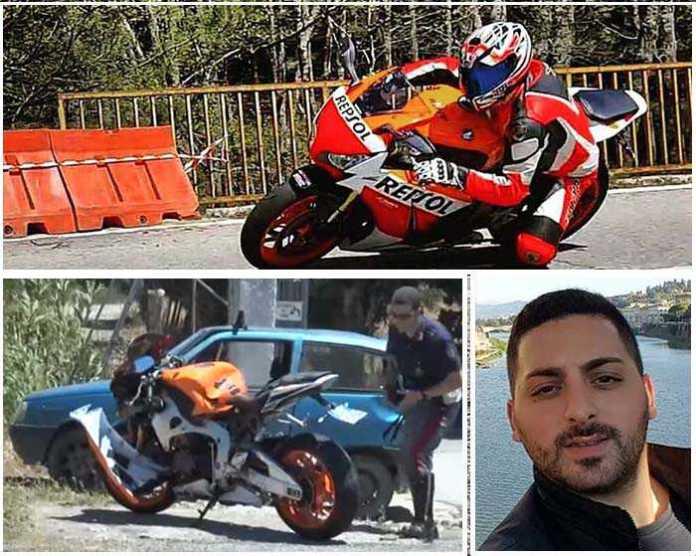 Tragedia a Catanzaro, muore in moto il 26enne Simone Corsi