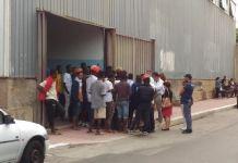 Proteste dei minori migranti non accompagnati ospiti a Reggio
