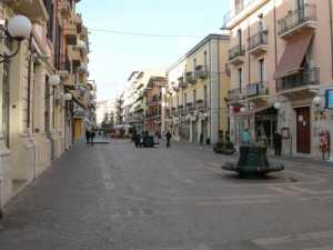 Corso Mazzini a Cosenza