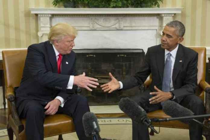 Incontro alla Casa Bianca tra Trump e Obama