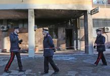 La stazione dei Carabinieri di via San Savino nel quartiere Corticella