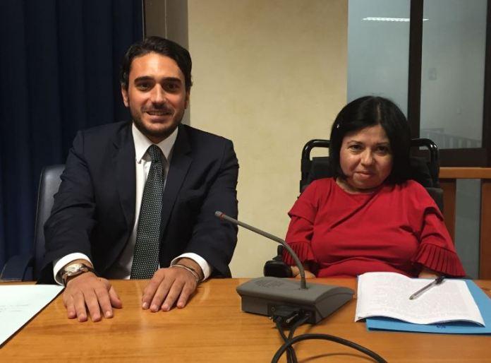 Il presidente del Consiglio Nicola Irto e la presidente delle Pari opportunità Calabria Cinzia Nava