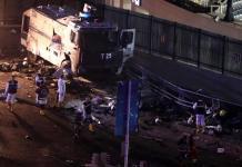 La scena dell'attentato a Istanbul