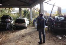 auto demolizione illegale a rende