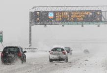 neve autostrada