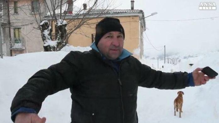 Rischio frane, evacuata frazione di Campotosto