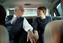Frank-Walter Steinmeier con la moglie