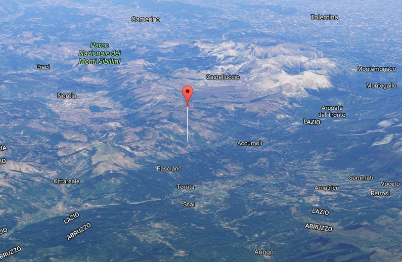 Terremoto, scossa di magnitudo 3.8 ad Accumoli: a Teramo scuole evacuate