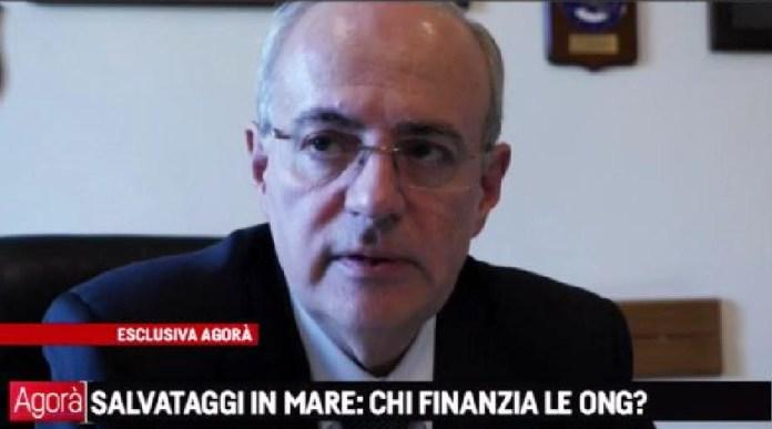 Il procuratore capo della Repubblica di Catania Carmelo Zuccaro