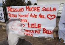 Emanuele Morganti striscione
