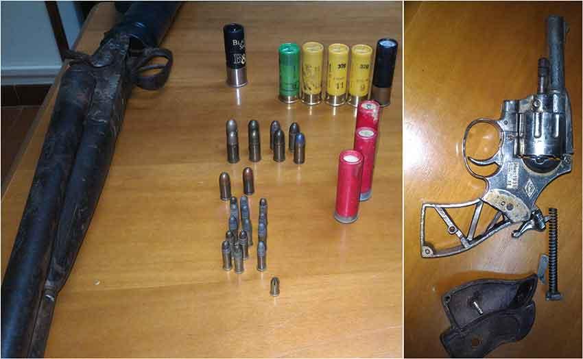 In casa con armi e munizioni arrestato 57enne nel - Piano casa calabria 2017 ...