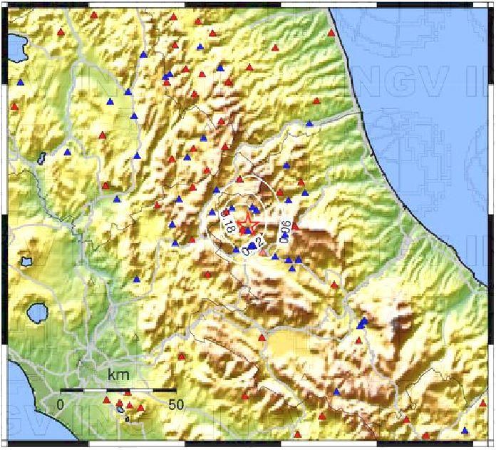 terremoto Pizzoli Campotosto