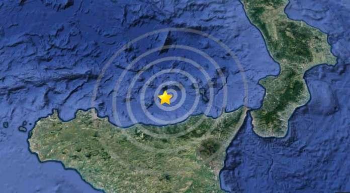 Terremoto magnitudo 3.8 e 3.4 alle Eolie, avvertito in Sicilia e Calabria