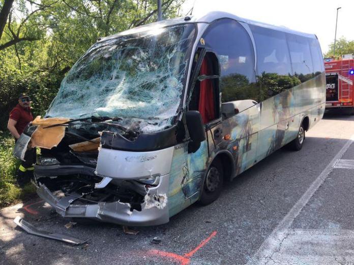 L'autobus della scolaresca