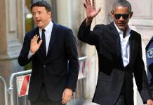 Obama co Renzi a Milano
