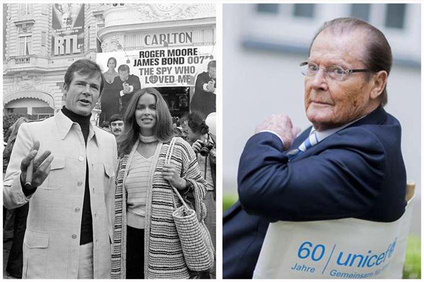 """E' morto Roger Moore, il """"James Bond"""" più longevo"""