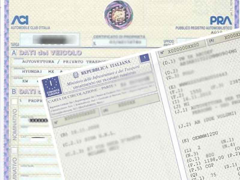 Addio documenti multipli dei veicoli arriva unica carta for Carta di soggiorno 2017 documenti