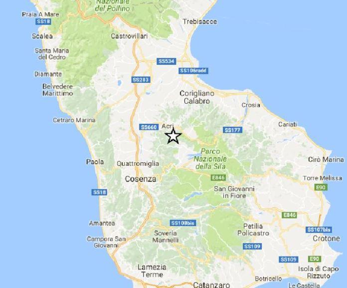 terremoto Acri