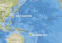 terremoto giappone terremoto vanuatu