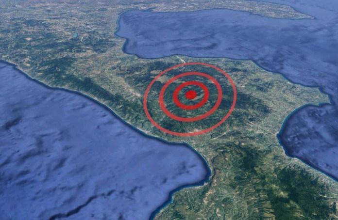 terremoto serra pedace