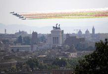 Frecce tricolori festa Repubblica 2 giugno