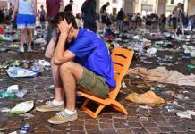 piazza san marco dopo la follia a Torino