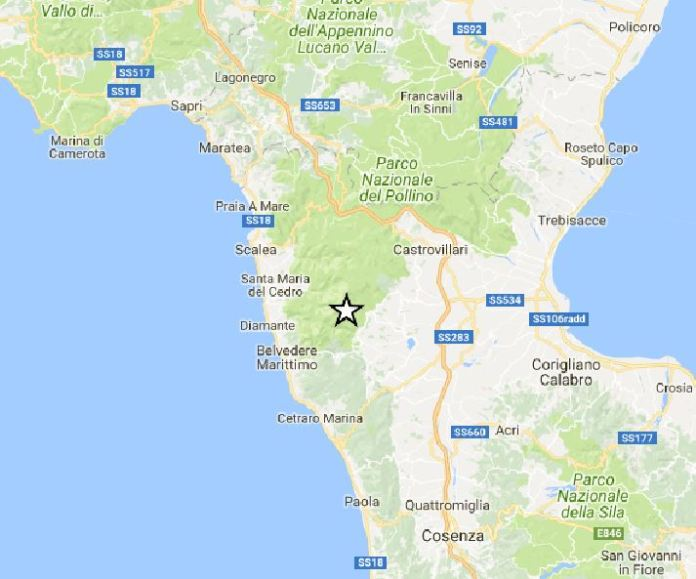 terremoto san sosti