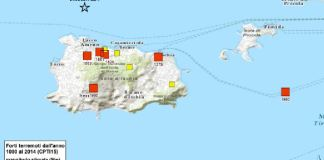 mappa terremoti Ischia