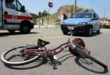bici pirata incidente
