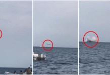 Caccia militare precipita in mare a Terracina