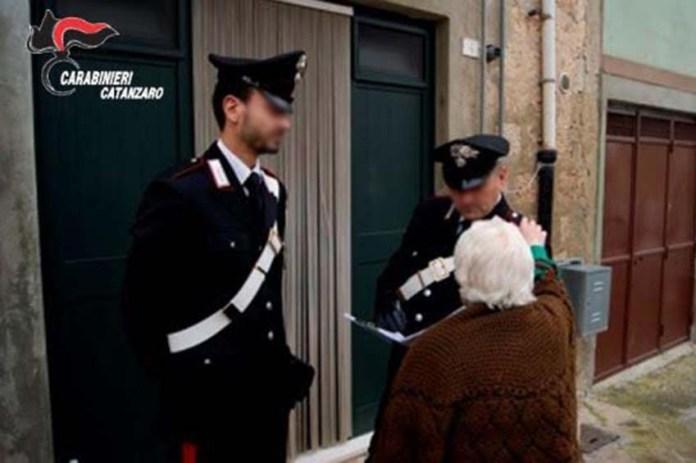 carabinieri Cz truffe agli anziani