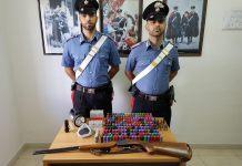 carabinieri campana armi