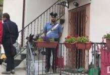 carabinieri davanti casa perosa argentina