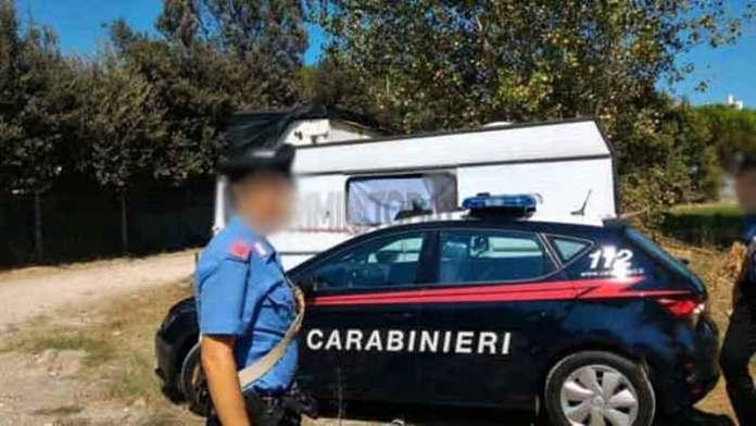 carabinieri roulotte