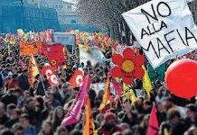 corteo antimafia
