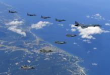esercitazione Jet Usa Seul