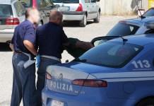 polizia arresto della volante