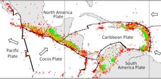 terremoto messico placca di Cocos