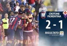 Crotone Fiorentina 2-1