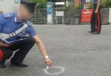 carabinieri bossoli sparatoria
