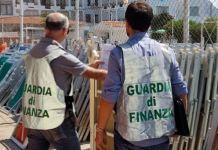 lido balneare guardia di finanza