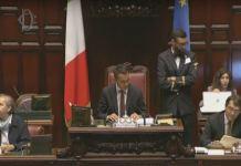 tavolo presidenza Camera