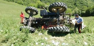 Tragedia a Polia Carmelo Penna muore schiacciato da trattore