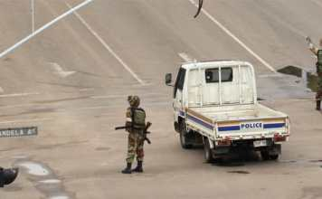Colpo di Stato in Zimbabwe Mugabe