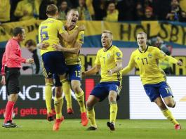 Svezia Italia 1-0