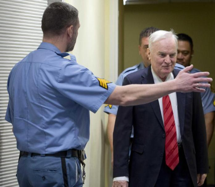 Ratko Mladic condannato per crimini di guerra
