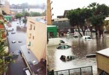 Violenta alluvione a Reggio Calabria, allagamenti e disagi
